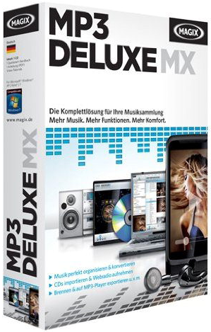 MAGIX MP3 deluxe MX 18.03 Build 115 Full Version
