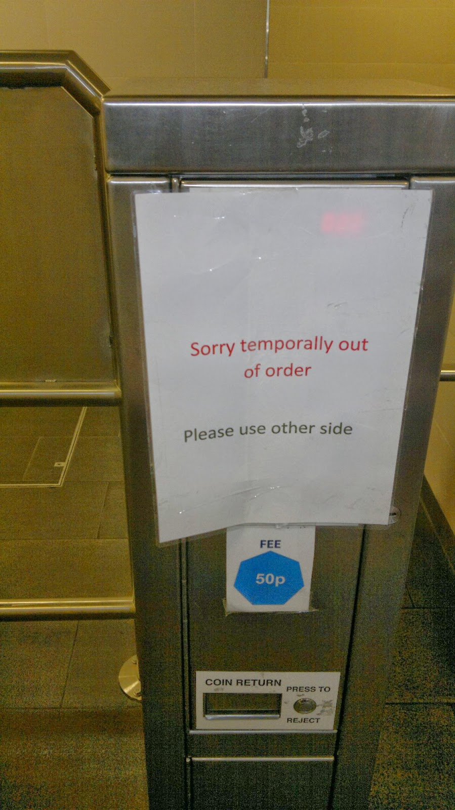 Sorry temporally out of order