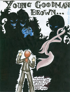young goodman brown pink ribbons