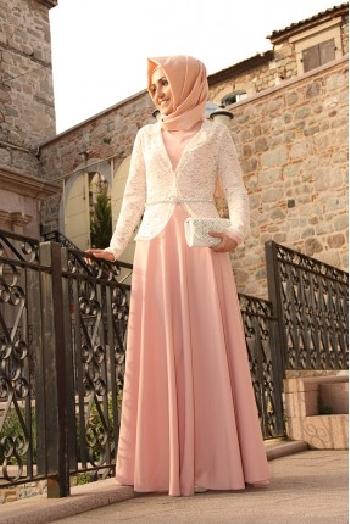 Pınar Şems Yeni Sezon Tesettür Elbise Modelleri