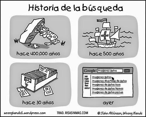 Historia de la búsqueda