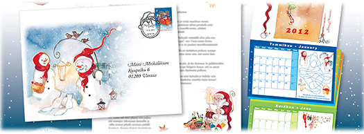The philatelic blogger november 2011 santa of course also signs the letter the content of the letter is a surprise spiritdancerdesigns Images