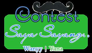 Contest : Saya Sayang...