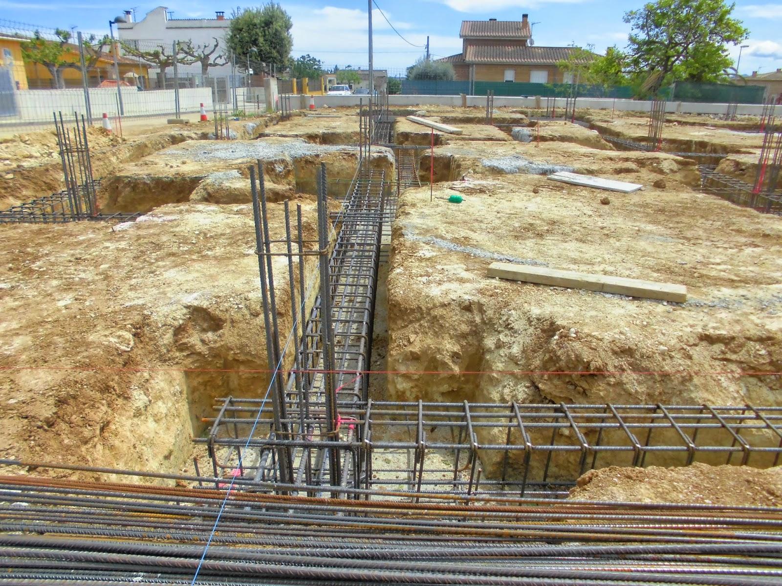 El maestro de obras xavier valderas construccion de cimientos - Clases de ladrillos ...