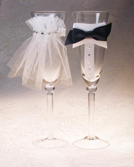Paso a paso para hacer una preciosa decoraci n de copas - Como decorar copas para boda ...