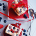 Angel cake with raspberries / Prajitura ingeras cu zmeura