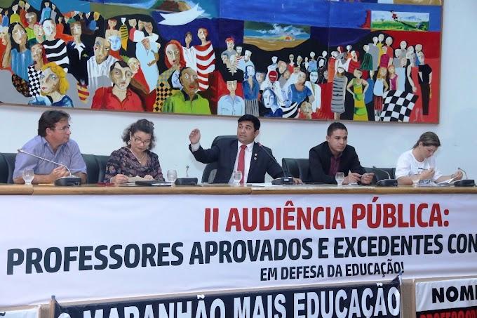 Deputado Wellington comanda Audiência Pública em defesa dos professores excedentes do concurso realizado em 2009