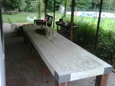 Detalle tapa de mesa