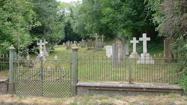View of Old St Peter's Churchyard from the road