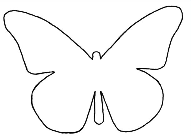 Top my pretty way of life: Ombre hart van vlinders @KK19