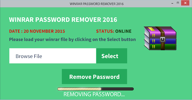 crack winrar archive file password