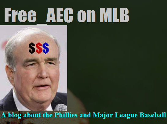 Free_AEC on the Phillies and MLB