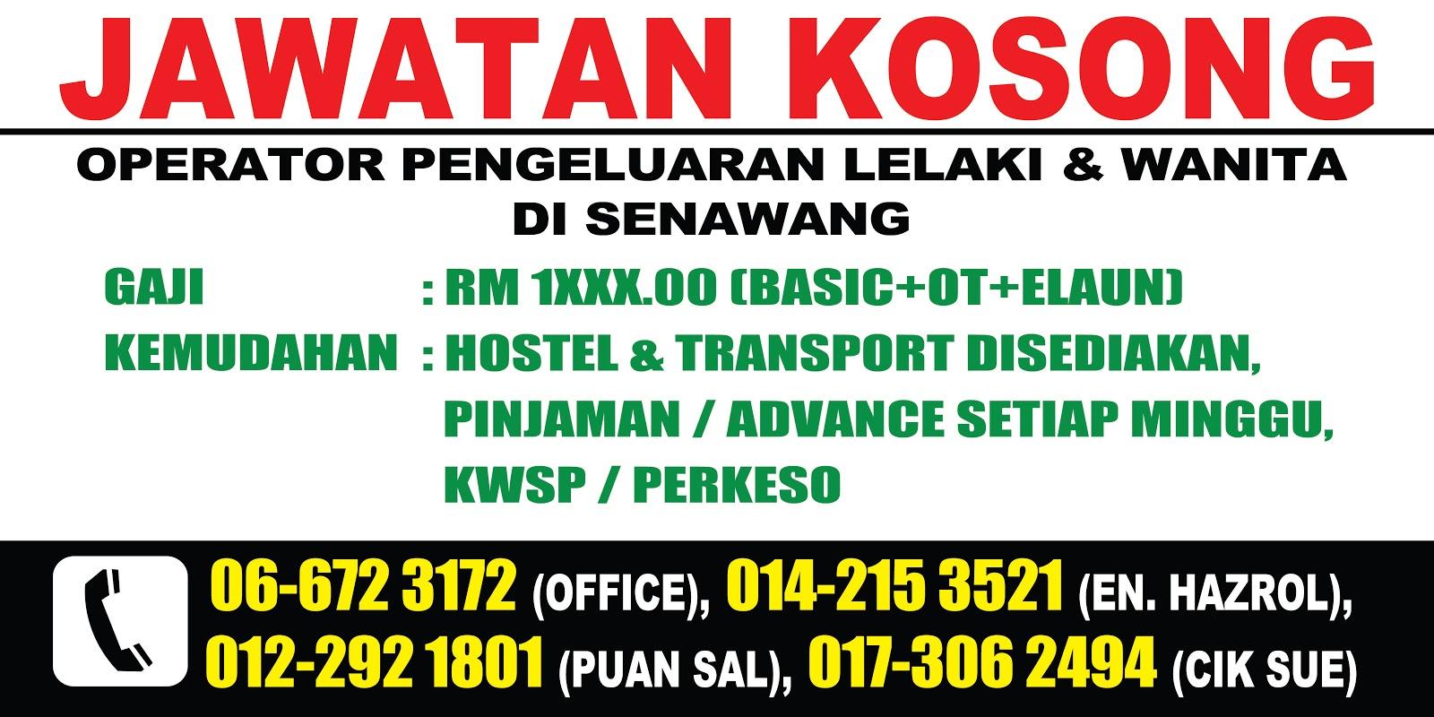 Terbuka Kepada Semua Warga Malaysia