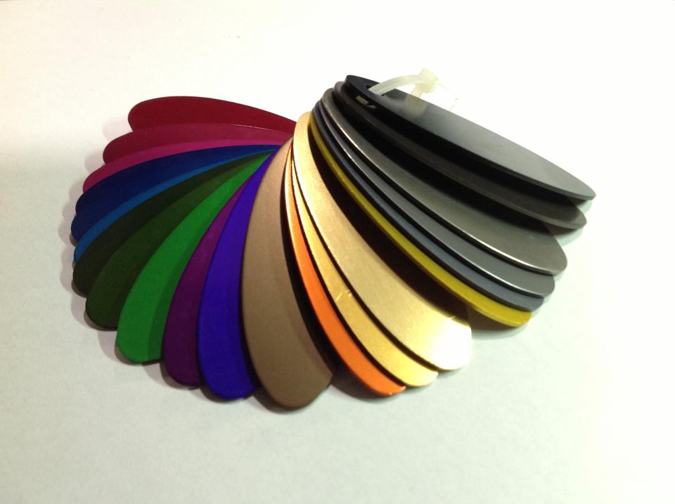 【顏色】陽極處理顏色                - 陽極處理顏色