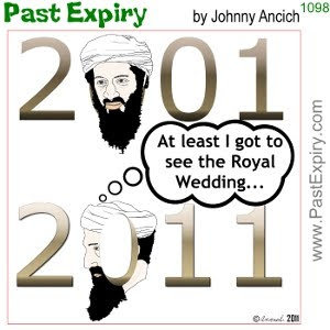 [CARTOON] Osama Bin Laden Killed. cartoon, Osama, lead, news, Royal, terrorist, violence