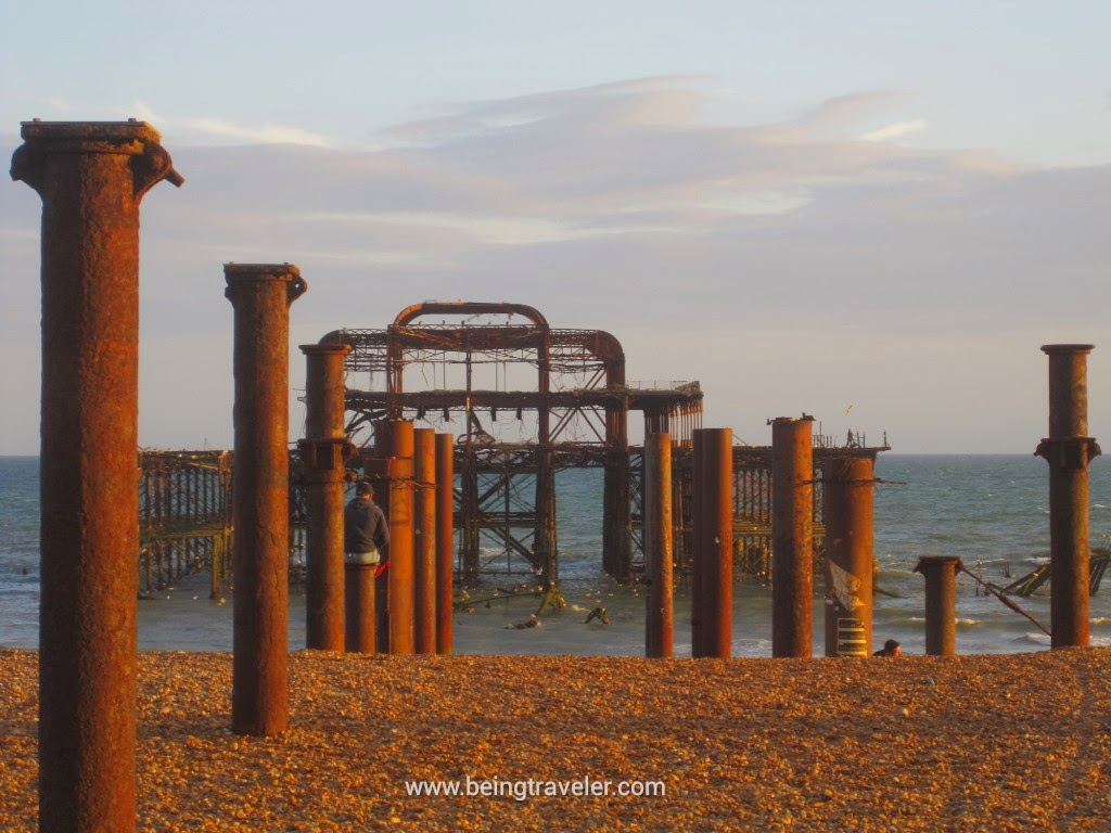 Remains of The West Pier