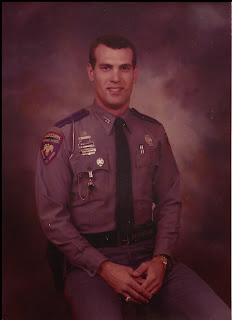 Denham as a Mississippi State Trooper