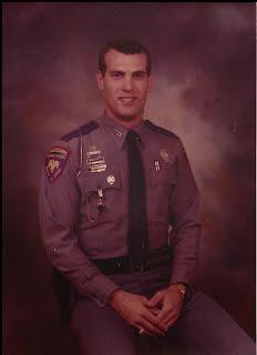 Denham as a Mississippi State Trooper