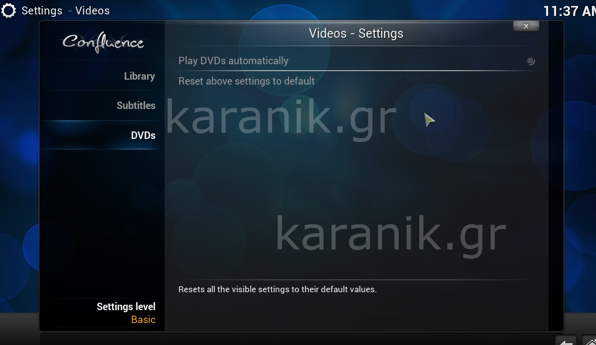 how to get config wizard on kodi