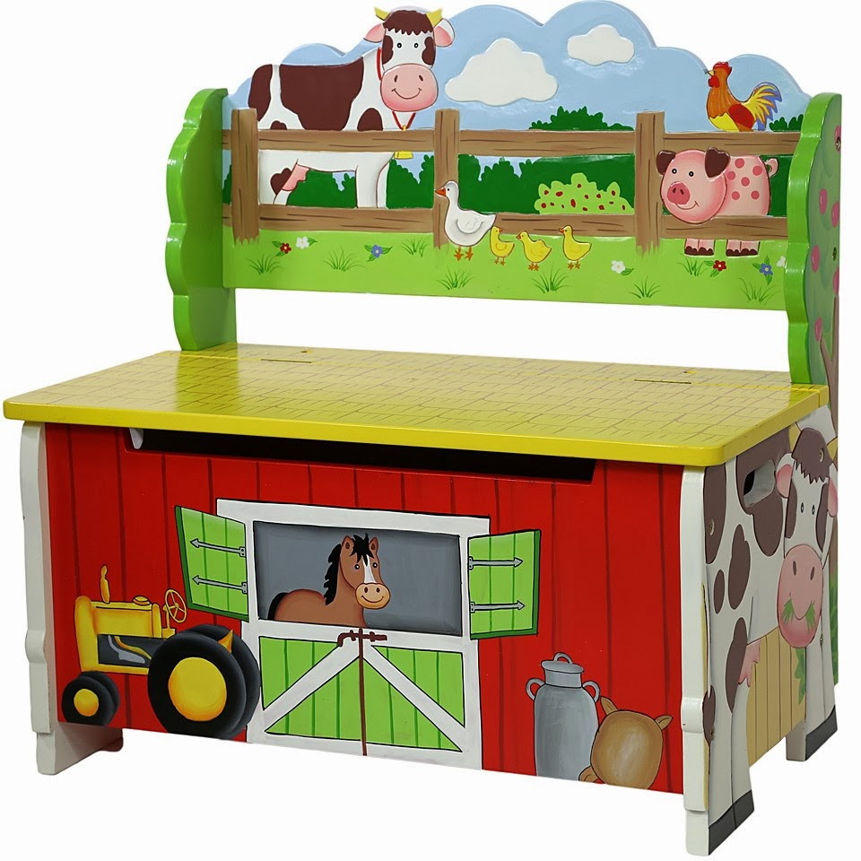 Boys Farm Bedroom Furniture Teamson Happy Farm