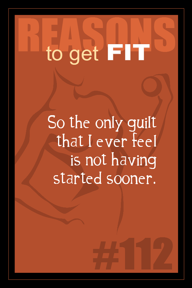 365 Reasons to Get Fit #112