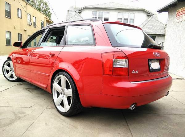 Ultra Sport Wagon 2004 Audi A4 Quattro Auto Restorationice