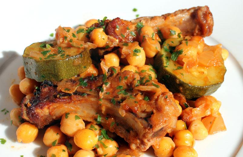 Falsarius chef blog de cocina f cil y recetas para el - Garbanzos con costillas ...