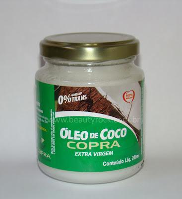 Umectação com óleo de coco Copra, onde comprar