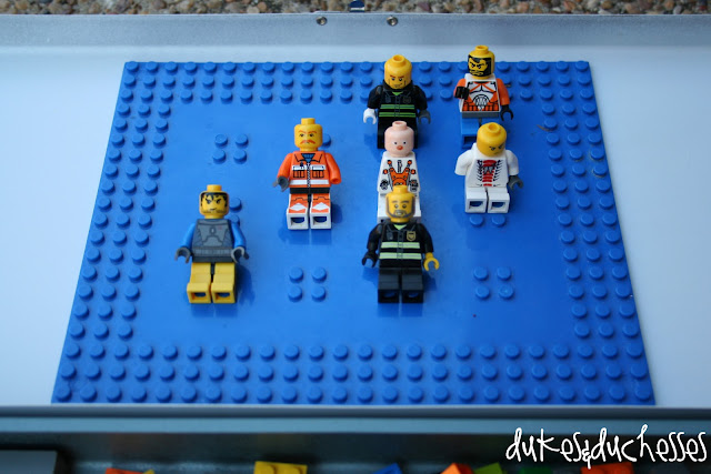 personalized Lego travel box