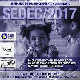 SEDEC Belém 2017