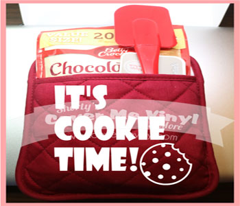 Oven Mit Kit (It's Cookie Time)