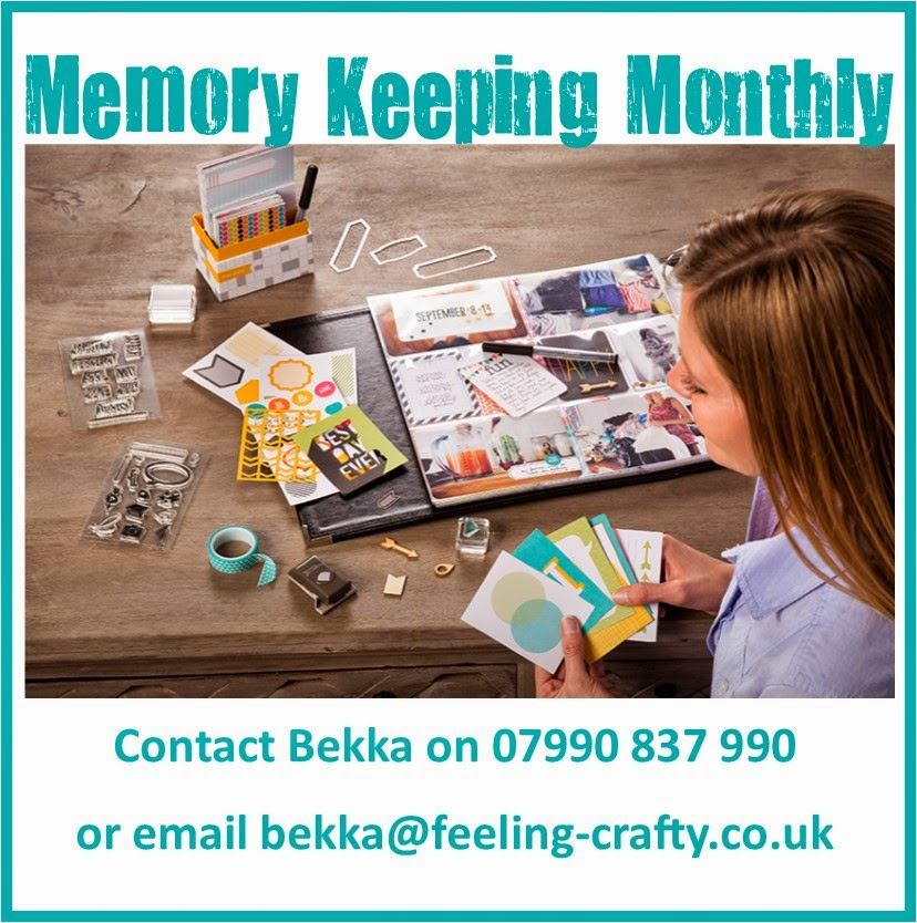 Memory Keeping Monthly - Classes Using Project Life by Stampin' Up! UK
