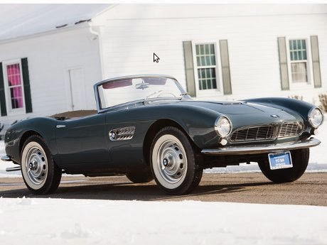 BMW 507 Series II Roadster