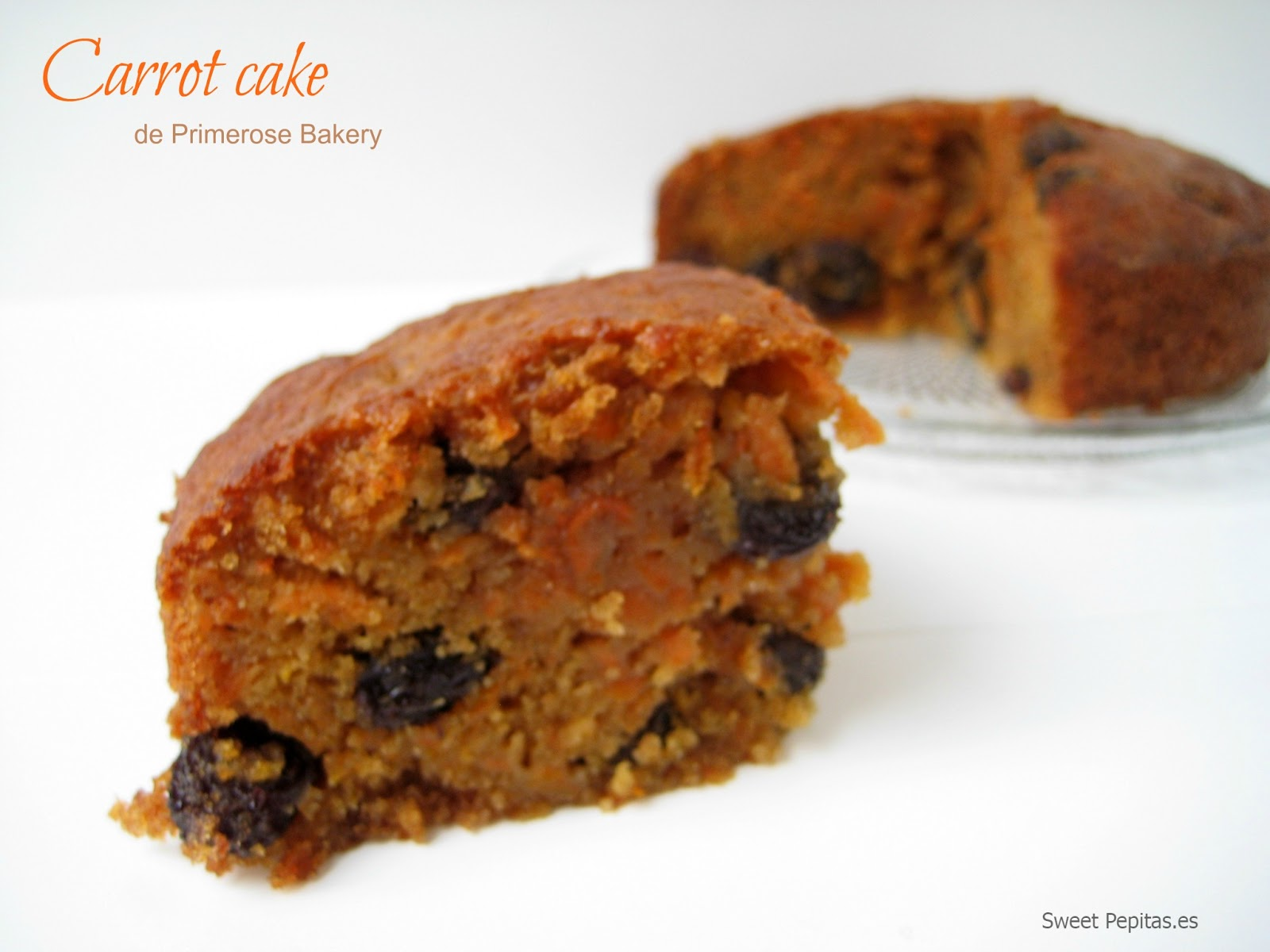 receta carrot cake primerose bakery
