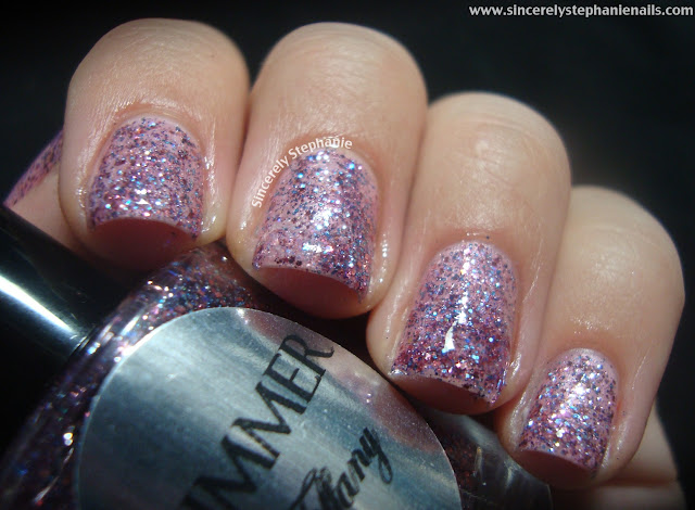 shimmer polish tiffany