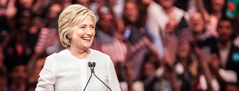 Eerste vrouwelijke presidentskandidaat!