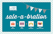 It's time for Sale-a-bration