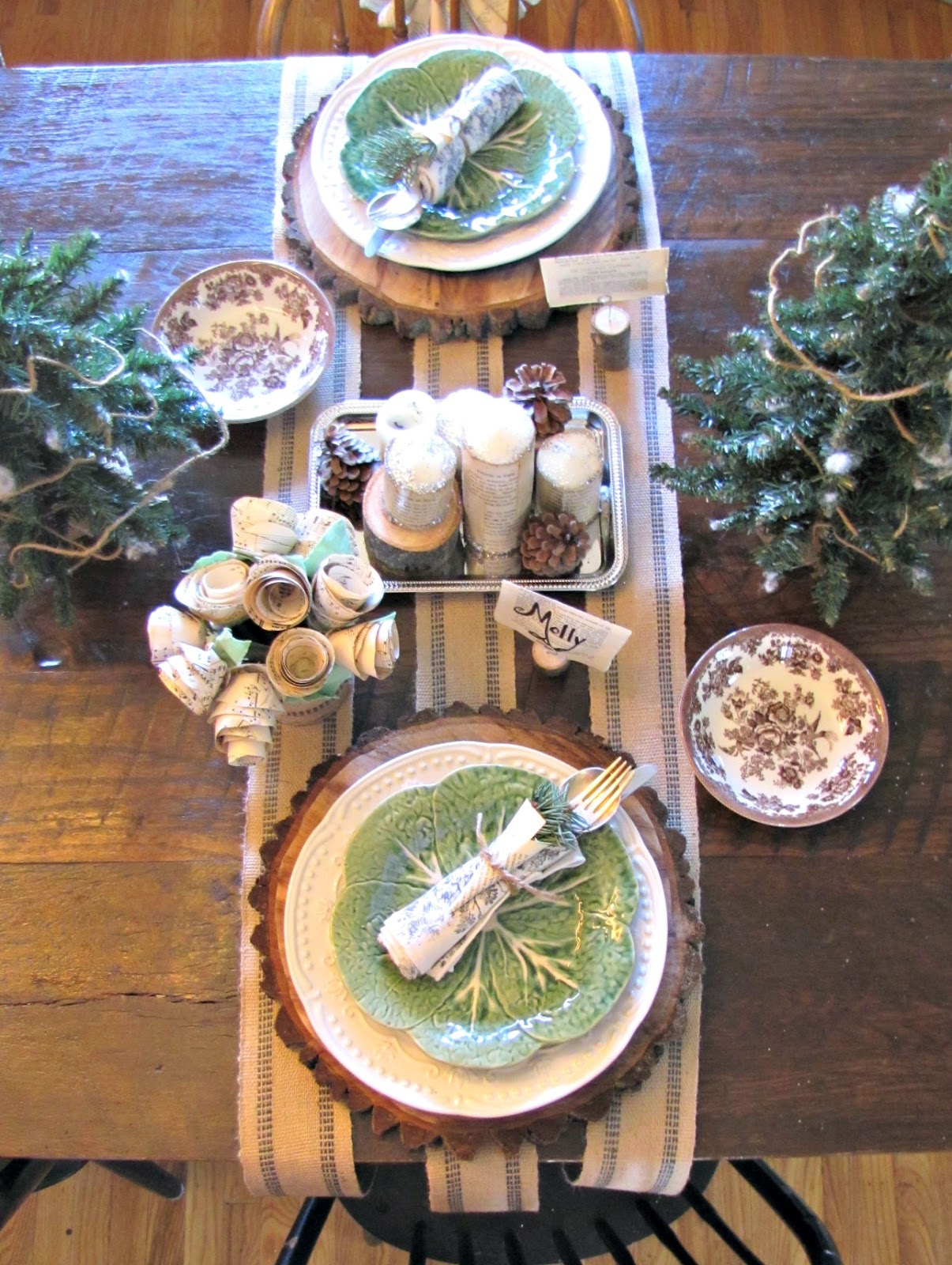 Gentil How To Create A Rustic Table Setting