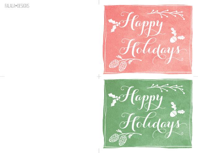 Falala Designs Happy Holidays