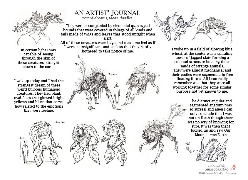 character and creature design notes overcoming an artist s creative