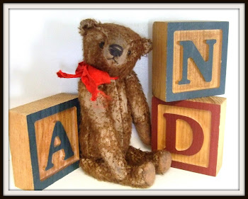 "SOLD! A Recently Completed Antique Style Teddy on ""Reserve"" For Melissa!"