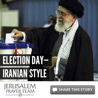 Election Day—Iranian style - Mike Evans - Jerusalem Prayer Team