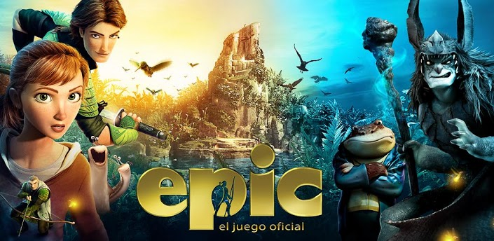 Epic: El Mundo Secreto para Android e iPhone