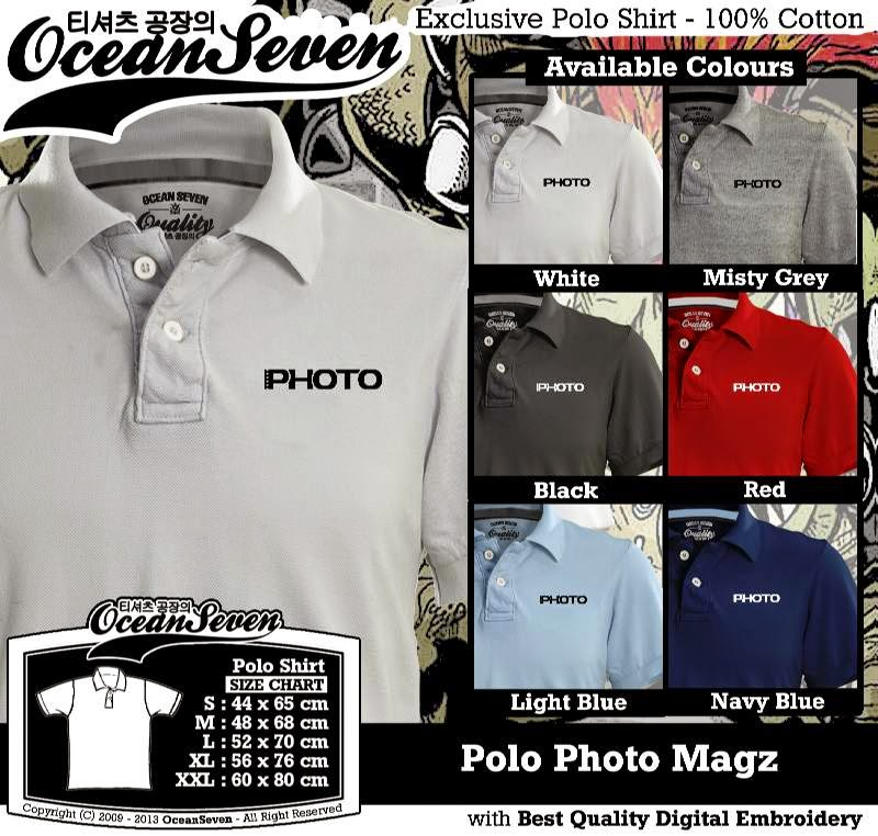 Kaos Polo Photo Magz
