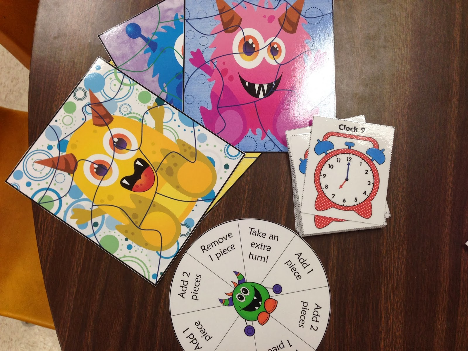 http://www.teacherspayteachers.com/Product/Monster-Math-Mix-up-Telling-Time-Common-Core-Aligned-647585
