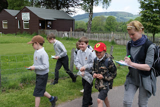 St Ronan's Primary School Osprey Watch visit