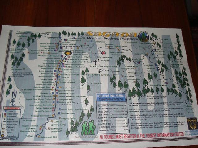 sagada map
