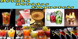 Drinks, Bebidas e Coquetéis