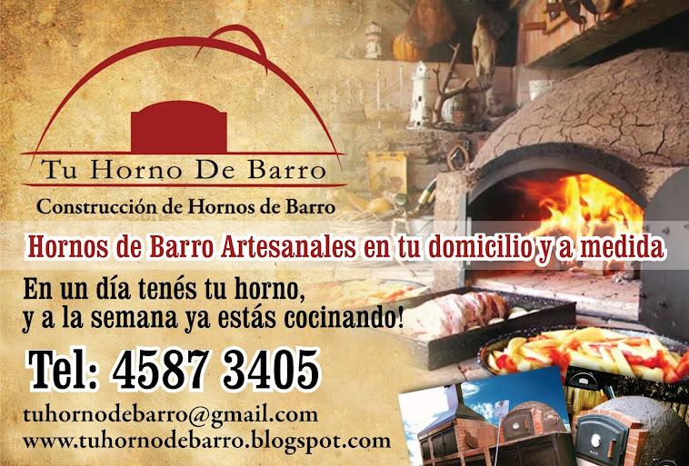 CONSTRUIMOS TU HORNO DE BARRO