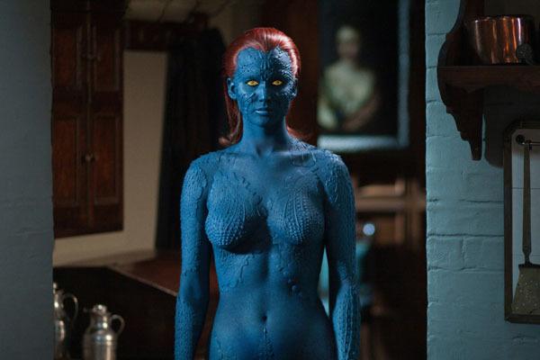 Jennifer Lawrence as Mystique in X-Men First Class